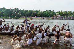Victory Celebrations | Aranmula boat race 2016,Kerala. (vjisin) Tags: kerala india asia photostory nikon nikond3200 tradition nikonofficial documentary composition outdoor people indianheritage backwaters indianculture daylight iamnikon oarsman boatman aranmula men indian indianmen tree