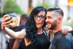 Boyfriends and Girlfriends (Thomas Hawk) Tags: america clarkcounty lasvegas lasvegasstrip nevada sincity usa unitedstates unitedstatesofamerica vegas selfie fav10 fav25 fav50
