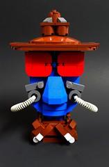 Cad Banerdly (Roy of Floremheim) Tags: lego creation moc build royoffloremheim starwars theclonewars tvshow cadbane character skin eyes hat jacket collar pipes nerdly nerdvember 2016