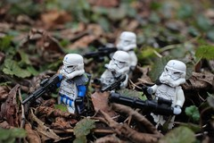 Special Forces on the move (kevinmboots77) Tags: lego legography starwars stormtroopers stormcommandos