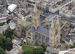 Truro Cathedral aerial image (John D F) Tags: truro cathedral aerial image cornwall aerialphotography aerialimage aerialphotograph aerialimagesuk aerialview britainfromabove britainfromtheair