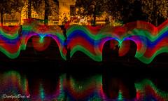 Week 45, 3x50 project (cindydebree.nl) Tags: 3x50 dag leiden pixelstick kleuren colours farben langesluitertijd avondfotografie avond vegetarian6 canonnl canon 50mm 50mm118ii 50mm18ii