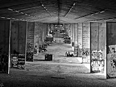 The capital of concrete (Oczyma Duszy) Tags: warszawa beton most estakada stolica polska czarnobiae olympusepl5 mzuikodigital warsaw concrete bridge flyover capital poland bw blackandwhite