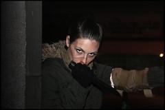 Knife (cicciobaudo) Tags: zombiewalk codigoro cosplay cacciatrice ragazza donna
