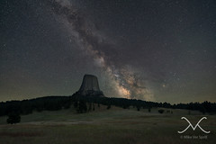 Close Encounters of the 3rd Kind - Devils Tower Milky Way (Mike Ver Sprill - Milky Way Mike) Tags: longexposure summer america stars landscape star amazing close unitedstates space wideangle roadtrip ufo kind explore third nightsky wyoming universe devilstower cosmos 3rd magnificent mv encounters 2015 1424 aloneatnight bestphotographerever startracker bestphotography nikond800 starrynightsky ioptron michaelversprill litforeground mikeversprill milkywaymike milkywaynucleus devilstowermilkyway