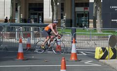 IMGP0155 (mattbuck4950) Tags: england london sport europe unitedkingdom august bicycles roads canarywharf 2015 triathlons westferrycircus londonboroughoftowerhamlets lenssigma18250mm camerapentaxk50