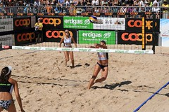 PG0O3642_R.Varadi_R.Varadi (Robi33) Tags: show summer game sport ball court switzerland sand play action competition basel victory player beachvolleyball international block umpire viewers