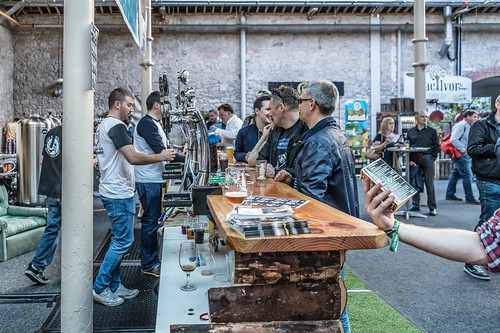 IRISH CRAFT BEER FESTIVAL IN THE RDS LAST WEEKEND IN AUGUST 2015 [SONY A7R MkII] REF-107261