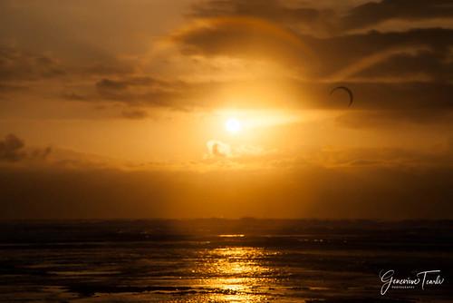 The sun sets on Lakey Peak beach, Hu'u, Sumbawa Island, Indonesia (August 2015)