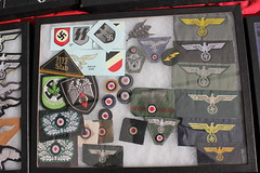 IMG_3858 (zaphad1) Tags: show 2015 victory cosby german ww2 world war 2 two insignia emblem military cap badge shoulder patch rusiian sub machine gun submachine creative commons zaphad1