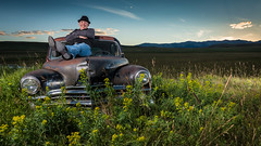 Theo Fleury (Wayne Stadler Photography) Tags: musician music calgary rural portraits nhl countryside flames country icon location greats theofluery theorenwallacefleury
