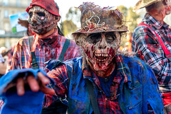 Zombie Walk 2015 (dprezat) Tags: street people paris dead living blood nikon walk brains romero zombies sang marche d800 2015 cerveau walkingdead zombiewalk mortvivant nikond800 hmoglobine