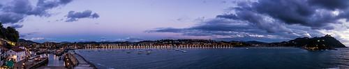 San Sebastian by Night