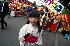 SAKURAKO - TSUKISAMU Shinto shrine festival. (MIKI Yoshihito. (#mikiyoshihito)) Tags: festival sapporo shrine daughter shinto sakurako         611 tsukisamshintoshrinefestival tsukisamshintoshrine tsukisam