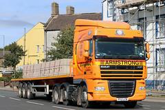 50 PY12 LFW (Cumberland Patriot) Tags: truck thomas space cab transport cumbria trucks 50 armstrong daf xf of flimby 105460 py12lfw