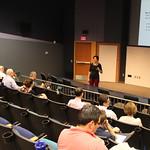 Dr. Richardson speaking at Faculty Forum.