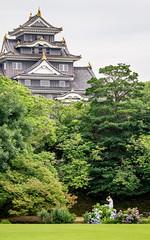 The Gardener (campra) Tags: castle japan garden okayama korakuen 後楽園