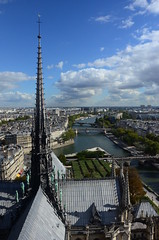 The view from the Towers of Notre Dame, Paris (martin_19_88) Tags: paris france cityscape view notre dame