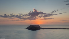 One light replaces another (The Photo Smithy) Tags: lighthouse clouds sunrise dawn barrenjoey westhead