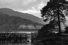 Rowardennan - Loch Lomond (GOR44Photographic@Gmail.com) Tags: tree water mono scotland hills loch tamron lomond rowardennan 60d gor44 monoscotland 70300mmf456diusdvc