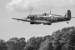 Lest We Forget (Carly Hodges Photography) Tags: vintage aviation planes spitfire battleofbritain bbmf p7350 riat2015 vintagedakota1
