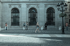 The Stage is Set (Jose Carlos Babo) Tags: barcelona street city cold beautiful spain streetphotography catalan streetpic