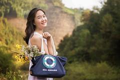 DSC_0129 (zhixueruirui) Tags: selfportrait flower smile lady asian