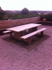 "Oak-Picnic-Table • <a style=""font-size:0.8em;"" href=""http://www.flickr.com/photos/28678584@N00/22371175438/"" target=""_blank"">View on Flickr</a>"