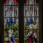 Stained glass window, St Helen's church, Brant Broughton thumbnail