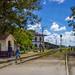 Rail crossing, Cuba