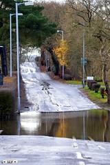 East Kilbride QUARRY ROAD 2015 (seifracing) Tags: road rain scotland flood britain south east quarry spotting services strathclyde inondation lanarkshire kilbride 2015 seifracing