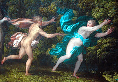 The Death of Euridyce (EmperorNorton47) Tags: autumn england detail london fall digital painting nude photo unitedkingdom interior nationalgallery chase cropped nicolodellabate