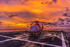 Sun Bird (BMGoff) Tags: ocean sunset coastguard color clouds coast colorful ship military sony awesome guard alpha epic swag iphone uscg a6000 bryangoff