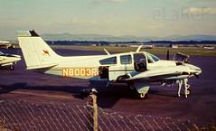 N8003R Beech Be-55 Baron cn TE-728 9-7-69 (eLaReF) Tags: edinburgh turnhouse n8003r beech be55 baron cn te728 9769 egph