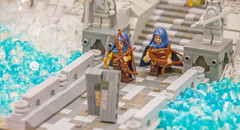 The Undying Lands (SEdmison) Tags: castle lego convention tolkien eldar jrrtolkien elves valinor 2015 arda brickcon undyinglands brickcon2015