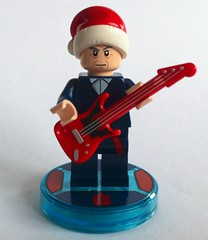 Happy axe-mas (Spielbrick Films) Tags: christmas xmas season happy holidays lego guitar who peter doctor bbc greetings minifig merry dimensions minifigure capaldi axemas