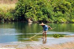 Yulong farmer (Bridgetony) Tags: china asia southeastasia guilin yangshuo farmer karst guanxi asiapacific