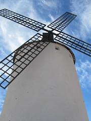 Herencia (Ciudad Real - Castilla la Mancha - España) (María Grandal) Tags: herencia molino castilla españa quijote europa
