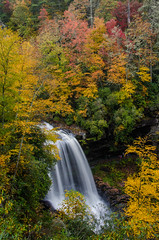October (Jon Ariel) Tags: dry falls northcarolina nc waterfall fall colors