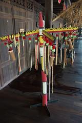 Aboriginal mystical totem (quinet) Tags: 2015 aborigne borneo iban malaysia sarawak sarawakculturalvillage ureinwohner aboriginal native kuching