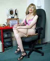 September 2016 (64) (Rachel Carmina) Tags: cd tv ts tg trap tgirl tgurl trans transgender crossdresser transvestite sexy legs heels nylons