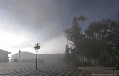 Atrio. parque principal, Sonsn (Ivan Mauricio Agudelo Velasquez) Tags: parque park antioaquia tree arboles niebla smoke smog colombia