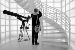Cinematic (The Green Album) Tags: berlin cinematic deutsche kinemathek museum camera stairs composition photographer interior