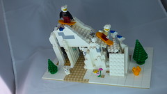 Brick Yourself Custom Lego Set Ski Slope