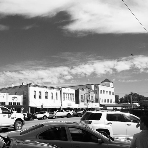 Fredericksburg, Texas #mainstreet #art #love #style #fashion #model #architecture #design #instagood #instadaily #interiordesign #vscocam #sky  #wimwenders #americana #photo #photography #historic #realestate  #country #clouds #berndandhillabecher #edrusc