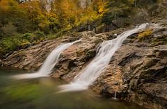Cascate dei Camini (marypink) Tags: cascatedeicamini malesco valvigezzo autumn fall waterfall longexposure pov foliage nikond800 nikkor1635mmf40