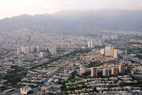 Tehran from above