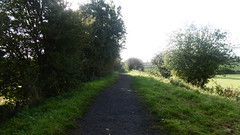 Railway trackbed between Burniston and Scalby (Scarborough - Whitby  old railway) (dave_attrill) Tags: scarborough whitby disused line trackbed route cinder path dr beeching report 1965 ner north eastern railway october 2016 scalby burniston