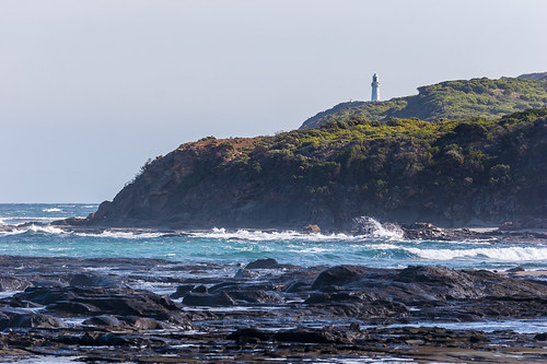 Cape Otway Lighthouse from Point Franklin