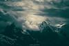 Enfer Vert sur les Cimes (Frédéric Fossard) Tags: monochrome vert paysage nature montagne glacier ciel altitude hautemontagne alpes hautesavoie massifdumontblanc neige lumière ombre atmosphère dramatique aiguilledumidi chamonix aiguillesdechamonix montblanc